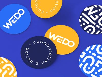 WE•DO Rebrand Sticker Pack