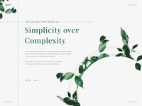 About Page Concept 1