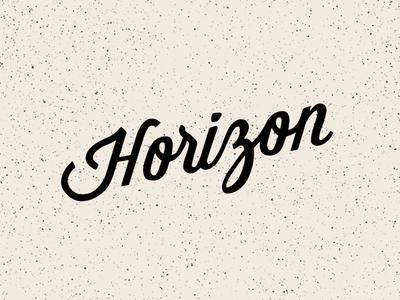 Horizon Logo Concept
