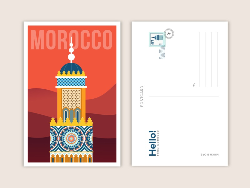 Morocco moroccan morocco illustration morocco postcard travel flat illustration adobe illustrator illustration art illustration design digital illustration vector art illustration illustrator adobeillustrator