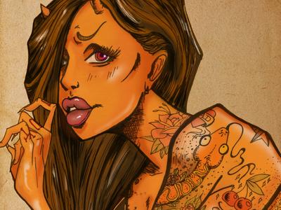 The Tattood Lady