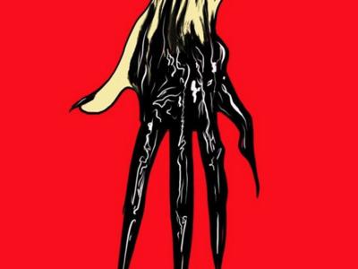 Inktober 8 - Gooey Hand