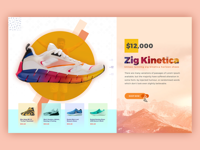 Shoes Banner shoes design shoes banner illustration design ui  ux banner design banner