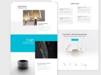 Smart home - furniture website
