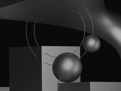 Cinema experience art 3dart geometric composition 3d cinema4d