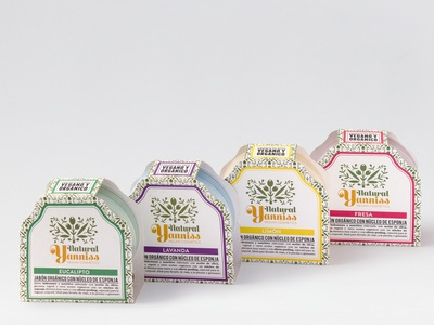 Natural Yanniss  Packaging Design