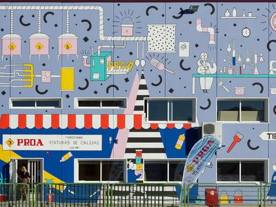 Mural for Industrias Proa