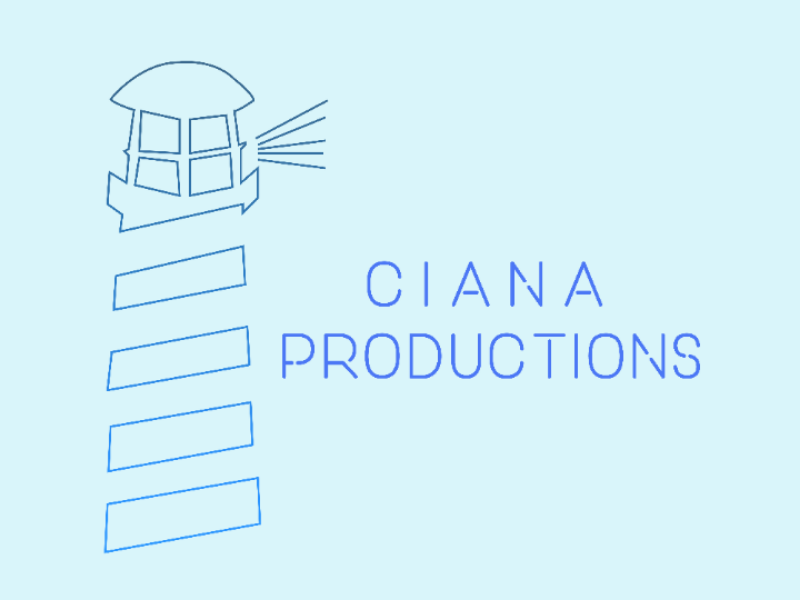 Branding for Ciana Productions photography film modern photoshop illustrator vector minimal branding