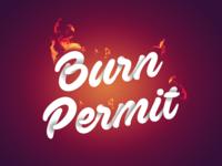 Burn Permit