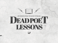 Dead Poet Lessons