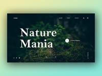 Nature Mania - Web Experimental Project