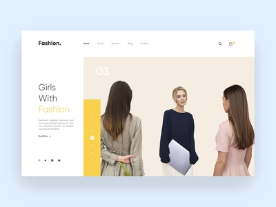 Girls Fashion Concept