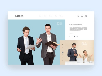 Agency Header Concept