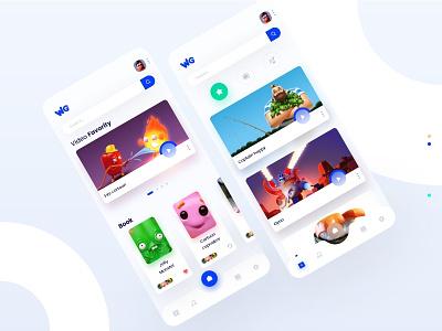 World game App 🎮 uxdesign interaction design interface design illustration minimal game interface mobile design interaction uidesign