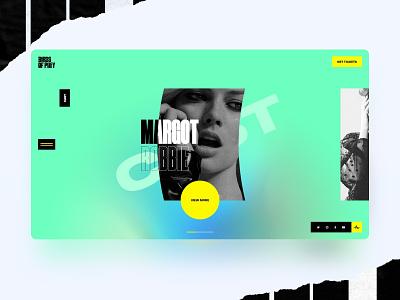 Birds of prey 🐱👤 interface design web minimal interface ui interaction uxdesign uidesign webdesign birds of prey harley quinn