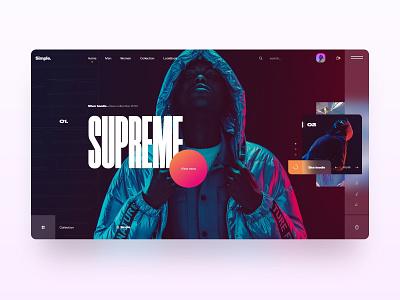 Simple typography jesus labarca fashion interface design uxdesign interaction design store woocommerce minimal interface mobile design website uidesign webdesign