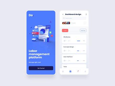 Do Task Manager 📌 ux design mobile design task manager app design ui minimal interface uxdesign interaction uidesign