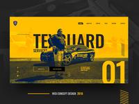 texguard web concept design