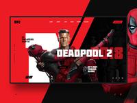 Deadpool 2 web concept design