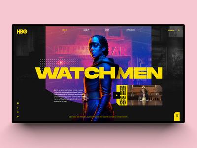 Watchmen Web Design 😃