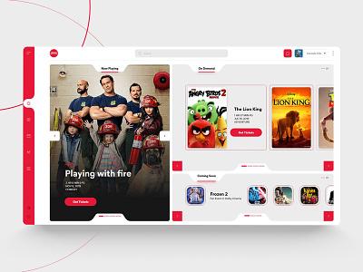AMC Theatres App Web 🎥 interactiondesign uxdesign uidesign responsivedesign webdesign app web design app design