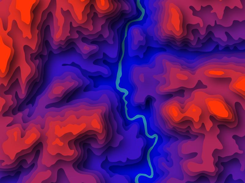 Poudre River Topographic Map