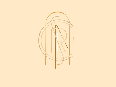 Monogram: G R A C I A S logo branding typography méxico monograms lettering
