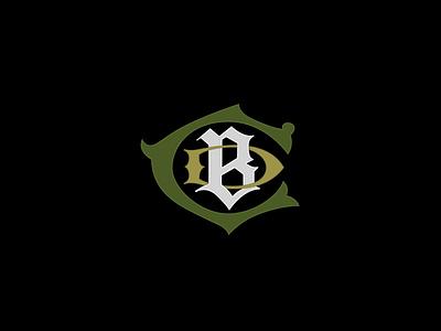 CBD Monogram cbd logo cbd oil branding logo design monograms lettering