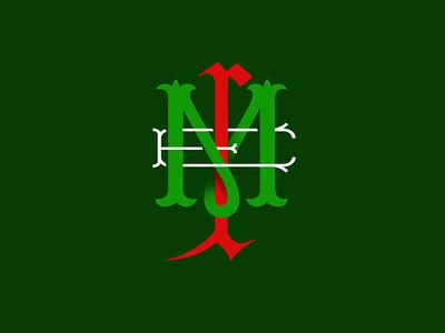 MONOGRAM for Mexico branding design méxico monograms lettering