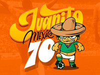 World Cup Characters Mexico 70