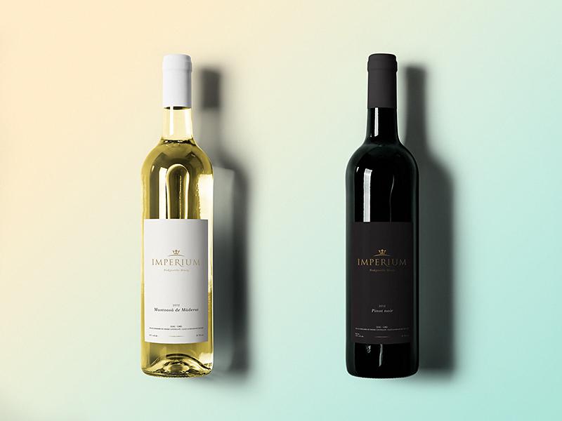 Imperium wine bottles