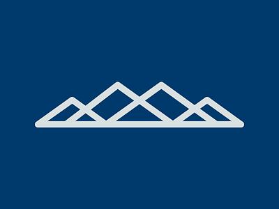Mountains lines peaks four overlap ice hike summit mountain mountains