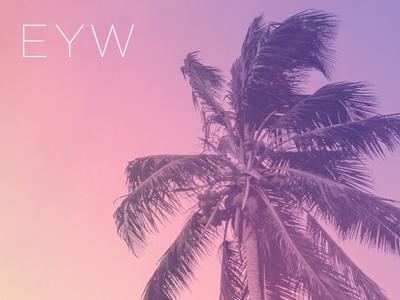 EYW sunset tropical florida west key code airport keywest eyw