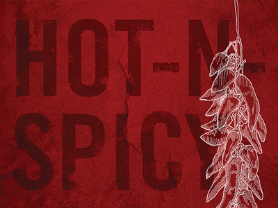 Hot-N-Spicy jalapeño red spice drawing jalapeno spicy hot