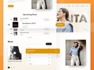 Monita Tahalea - Landing Page