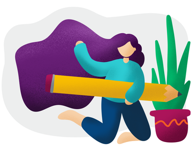 Content strategy blog post illustration