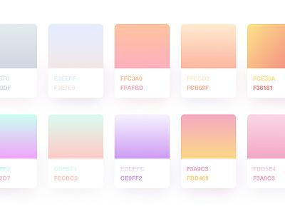 Sketch Gradients – Freebie  electric barbie card shadow shopware ios colors gradients sketch freebie