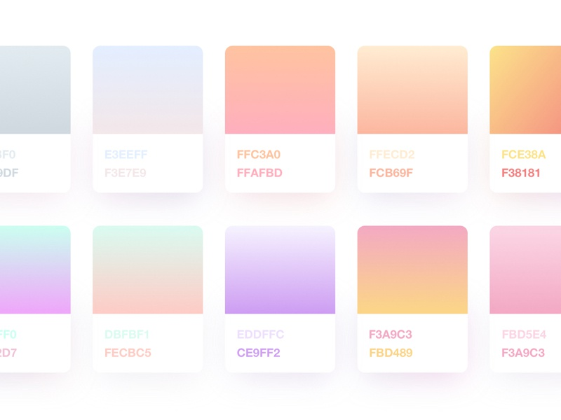 Sketch Gradients – Freebie