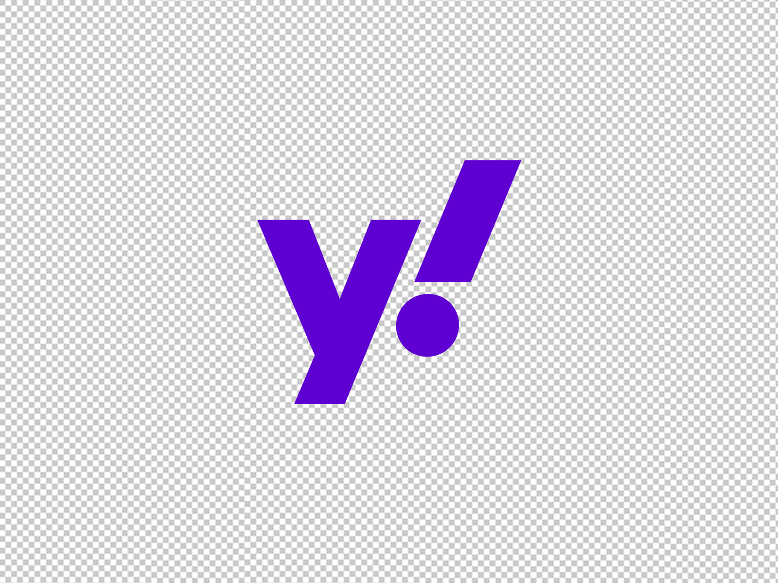 Yahoo Symbol Svg Template By 7 On Dribbble