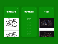 Sprocket Android Brand Bikes Styling 2014 Design ui monochrome material logotype header green brand bike branding logo sprocket bicycle app android