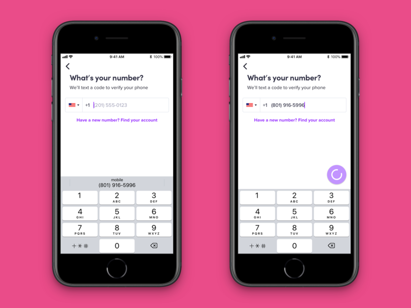 Lyft iOS Auth Redesign 2020 simple automation data sign in rideshare sign up authentication lyft iphone ui ux app mobile ios