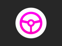 Lyft Android App Icon 2020 wheel steering wheel steering steer rideshare pink lyft play store gradient driver app driver car android
