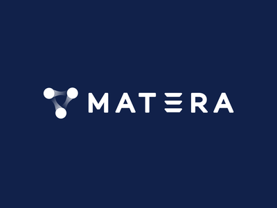 Mat3ra Rebranding science materials material atoms atom flat minimal web icon typography app design branding logo