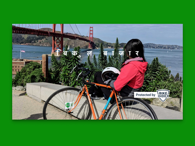 Sprocket Android Hindi ASO Video Cover 2021 cover marketplace play store aso woman bicycle bike golden gate bridge golden gate translation localization india hindi android