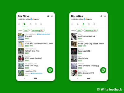 Sprocket Android Riders Count transparent material feedback counted counting counter count climate change ride rider riders people writing uxw ui bicycle bike tabs android sprocket
