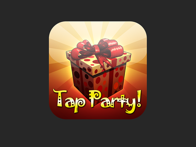 Tap Party 1 & Tap Party 2 iOS5 app icons