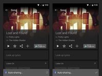 SoundHound Android Auto-share/playlist