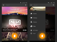 SoundHound Android Redesign 2013