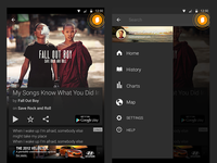 SoundHound Android AppWide ID FAB