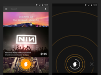 SoundHound Android ID FAB Animations